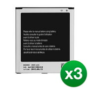 Replacement For Samsung Galaxy S4 B600BU / B600BZ Mobile Phone Battery - 3 Pack