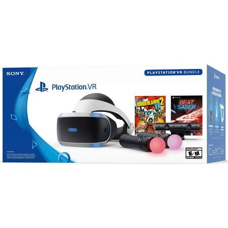 PlayStation VR Borderlands 2 VR and Beat Saber
