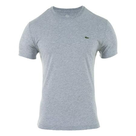 lacoste short sleeve pima jersey crewneck t-shirt mens style # th5275-51