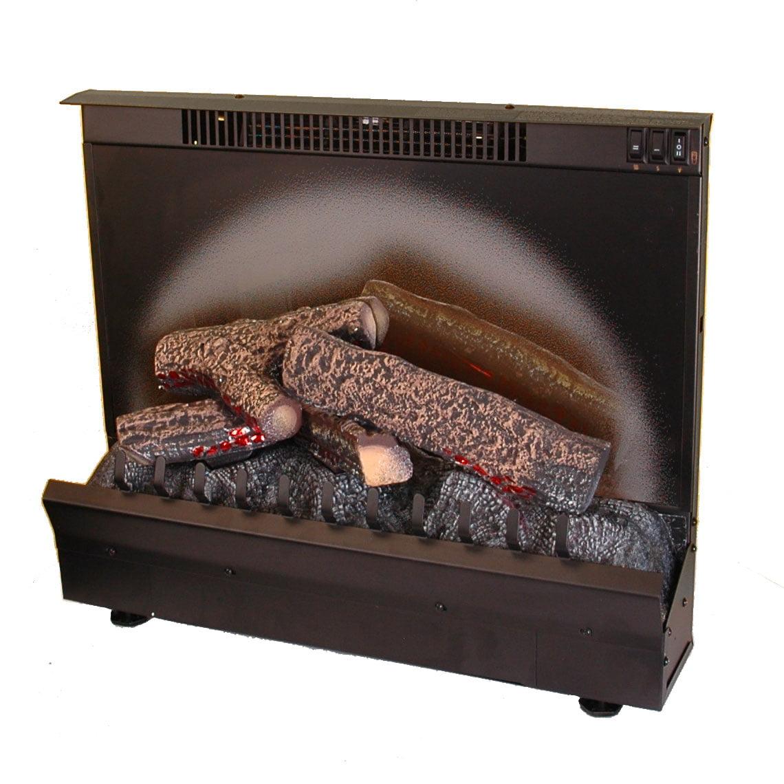 Dimplex North America DFI23096A Electric Fireplace Insert, 23-In. Firebox, 1375-Watts, 4695-BTU.