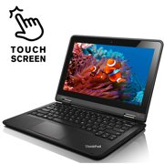 "Lenovo ThinkPad Yoga 11e Touchscreen 11.6"" Laptop Computer Intel Quad Core 4GB RAM 128GB SSD Webcam HDMI Wifi with Windows 10 - Refurbished"