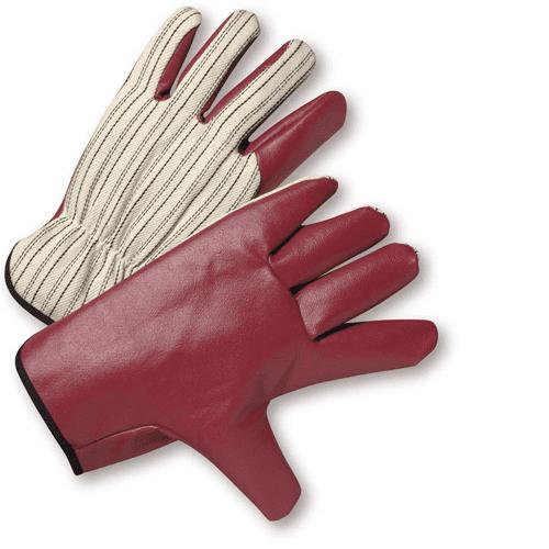 Large Nitrile Palm Drivers Gloves Dozen