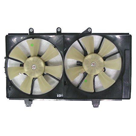Dual Radiator and Condenser Fan Assembly - Cooling Direct For/Fit CH3115137 CH3115137 04-05 Dodge Neon AT 2.0L ()