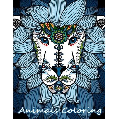 Animals Coloring : Detail Animals Coloring Book for Teenagers, Tweens, Older Kids, Boys, Girls Zendoodle and Adults (Halloween Coloring Pages For Girls)