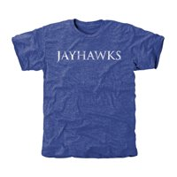 Kansas Jayhawks Classic Wordmark Tri-Blend T-Shirt - Royal