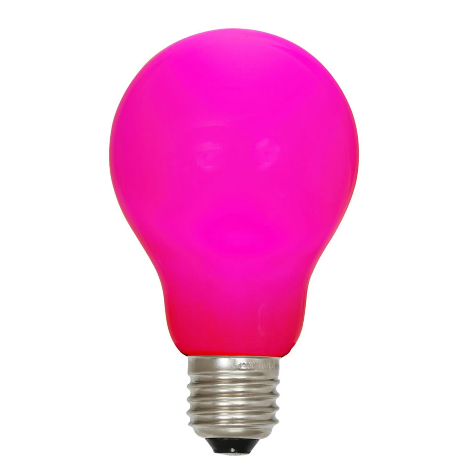 pink light bulbs walmart