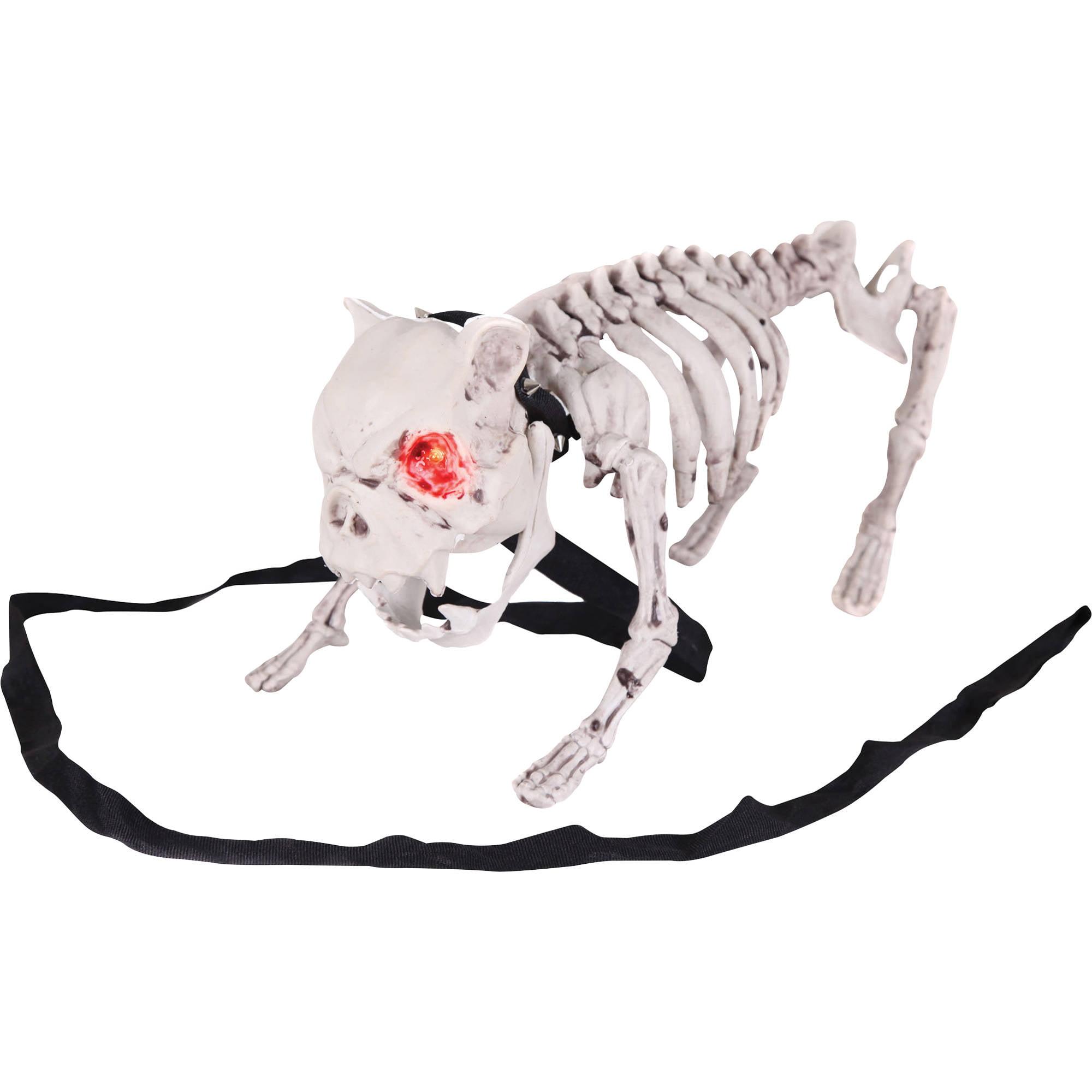 barking dog skeleton halloween decoration - walmart
