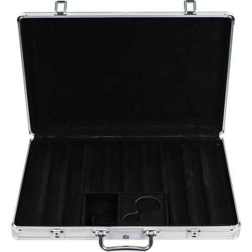 Trademark Poker 650 Capacity Chip Case, Executive Aluminum Hard Side