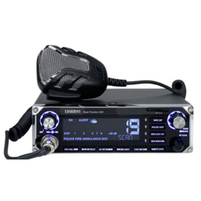 Uniden BearTracker 885 Hybrid CB Radio Digital Police Scanner w GPS by Uniden