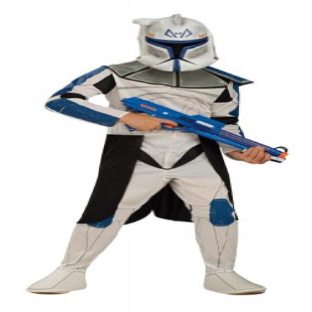 Captain Rex Costume (Star Wars Clone Wars Clone Trooper Child's Captain Rex Costume,)
