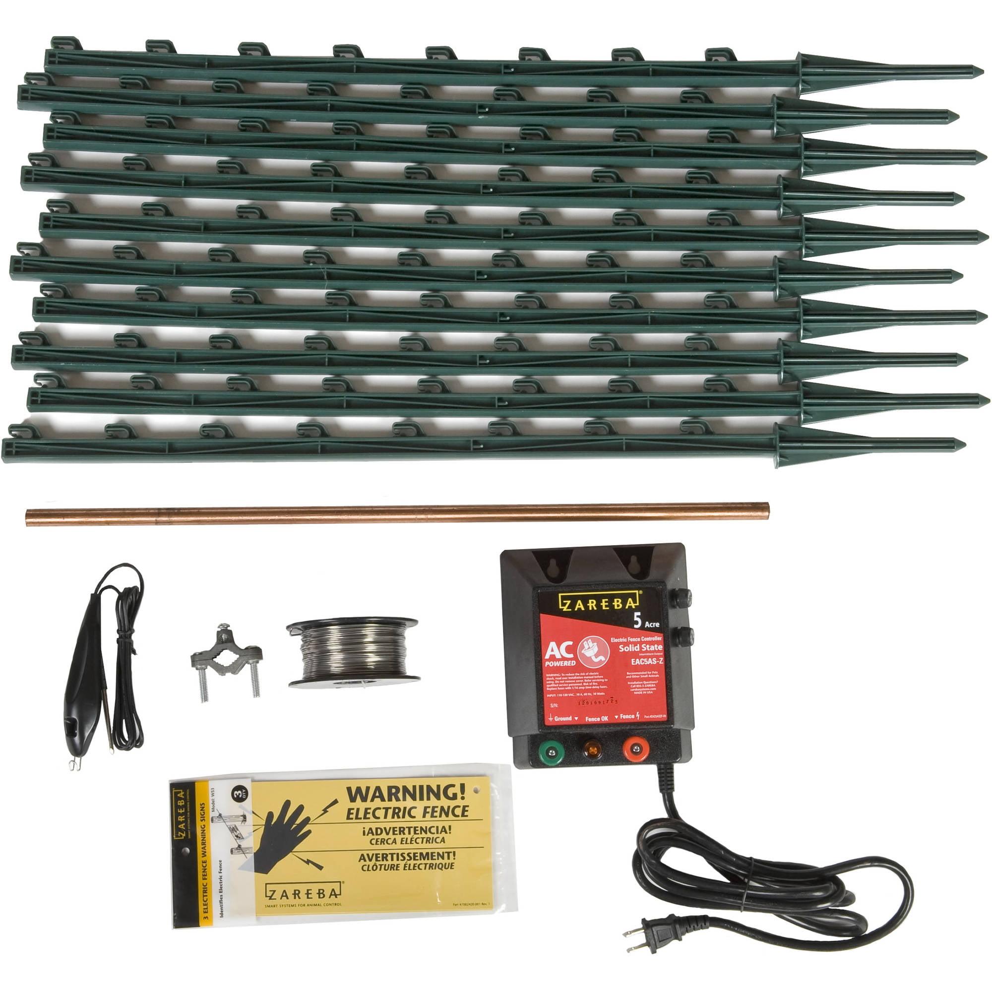 Zareba AC Garden Protector Electric Fence Kit Walmartcom