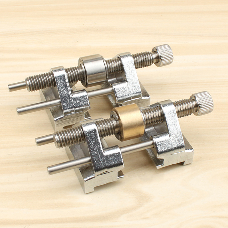 Stainless Steel//Brass Side Clamping Fixed Angle Honing Guide for Edge Sharpening