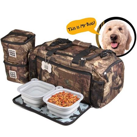 Dog Duffle (Overland Dog Gear Ultimate Weekaway Duffle (Camo) )