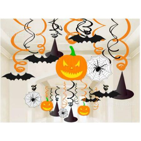 LifeMadeSimple Kid Friendly Hanging Halloween Party Decorations -30 pieces](Kid Friendly Food For Halloween Party)