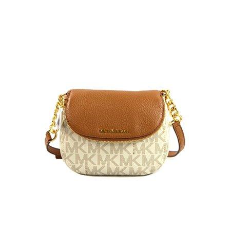 4c2d260f0186 Michael Kors - Michael Kors Bedford Leather Crossbody Bag Purse Handbag -  Walmart.com