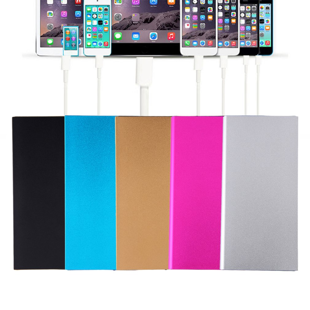 Portable Professional Ultra Thin External Battery Charger Charging Station  Power Bank For Cell Phone For Iphone