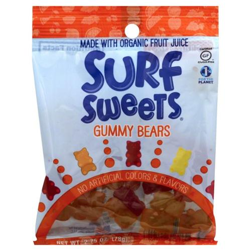 Surf Sweets Gummy Bears Planet Harmony 2.75 oz Bag