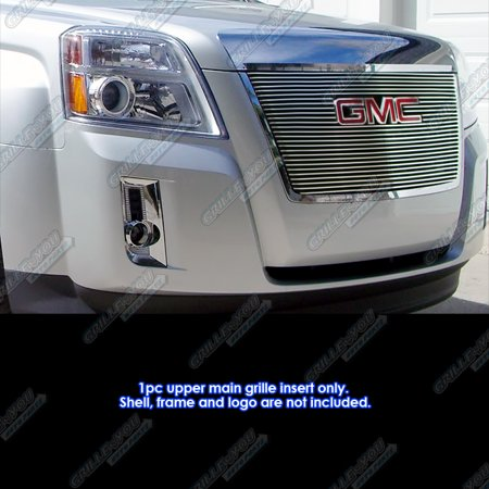 Fits 2010-2015 GMC Terrain Billet Grille Insert With Logo Show ()