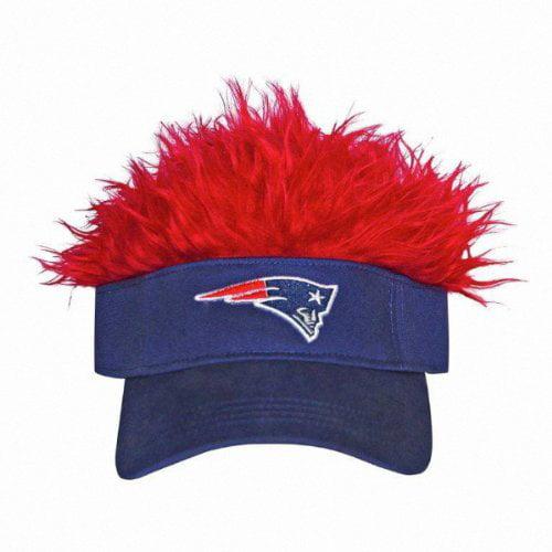 Nfl New England Patriots Flair Hair Cap Visor Walmart Com