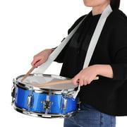 Muslady 12inch Snare Drum Set,Drumsticks,Shoulder Strap,Drum Key for Student Band