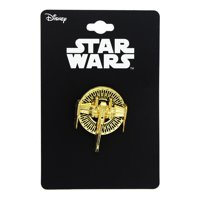 Star Wars: The Last Jedi X-Wing Gold Metal 3D Collector Pin