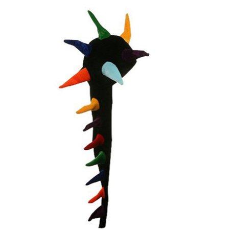 Dragon Tail Costume (Fun Multicolored Long Tail Dragon Jester Costume)