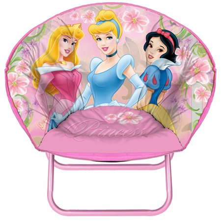 c72a873aa68 Disney Princess Mini Saucer Chair - Walmart.com