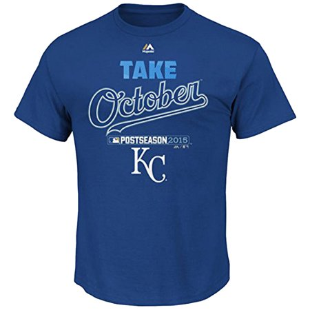 Kansas City Royals Majestic 2015 Playoff Authentic Collection Take October T Shirt