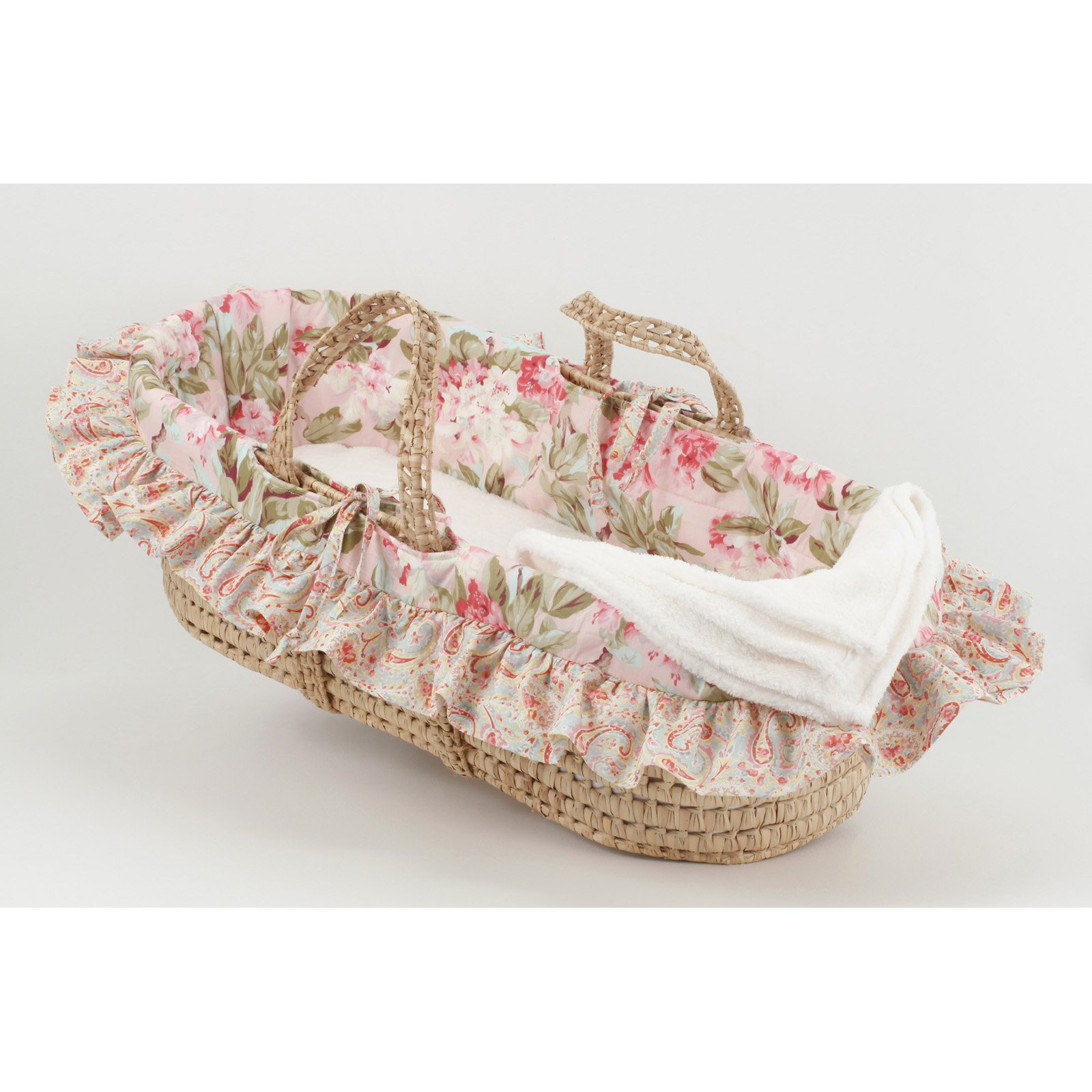 Cotton Tale Designs Tea Party Moses Basket