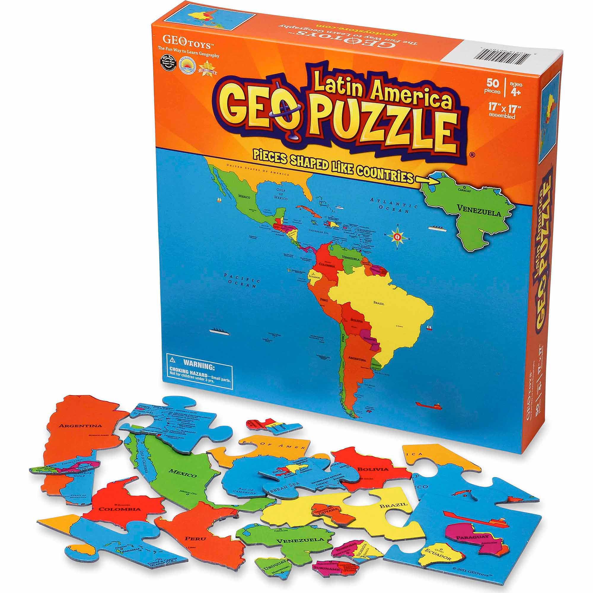 GeoPuzzle, Latin America