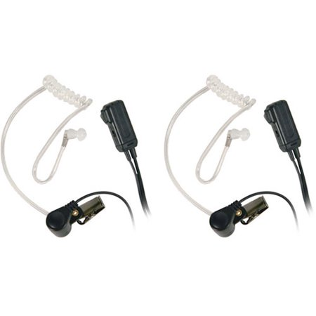 Midland Avp H3 Surveillance Headsets For Gmrs Frs Radios  Pair