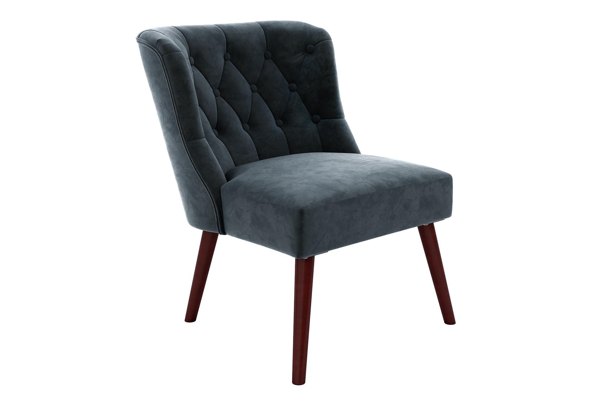 Peachy Novogratz Vintage Tufted Accent Chair Multiple Colors Creativecarmelina Interior Chair Design Creativecarmelinacom