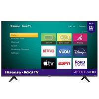 Deals on Hisense 58R6E3 58-inch 4K UHD LED Roku Smart TV