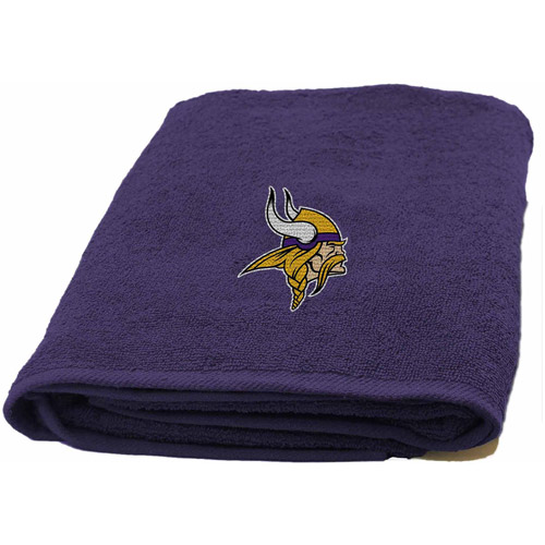 NFL Applique Bath Towel, Vikings