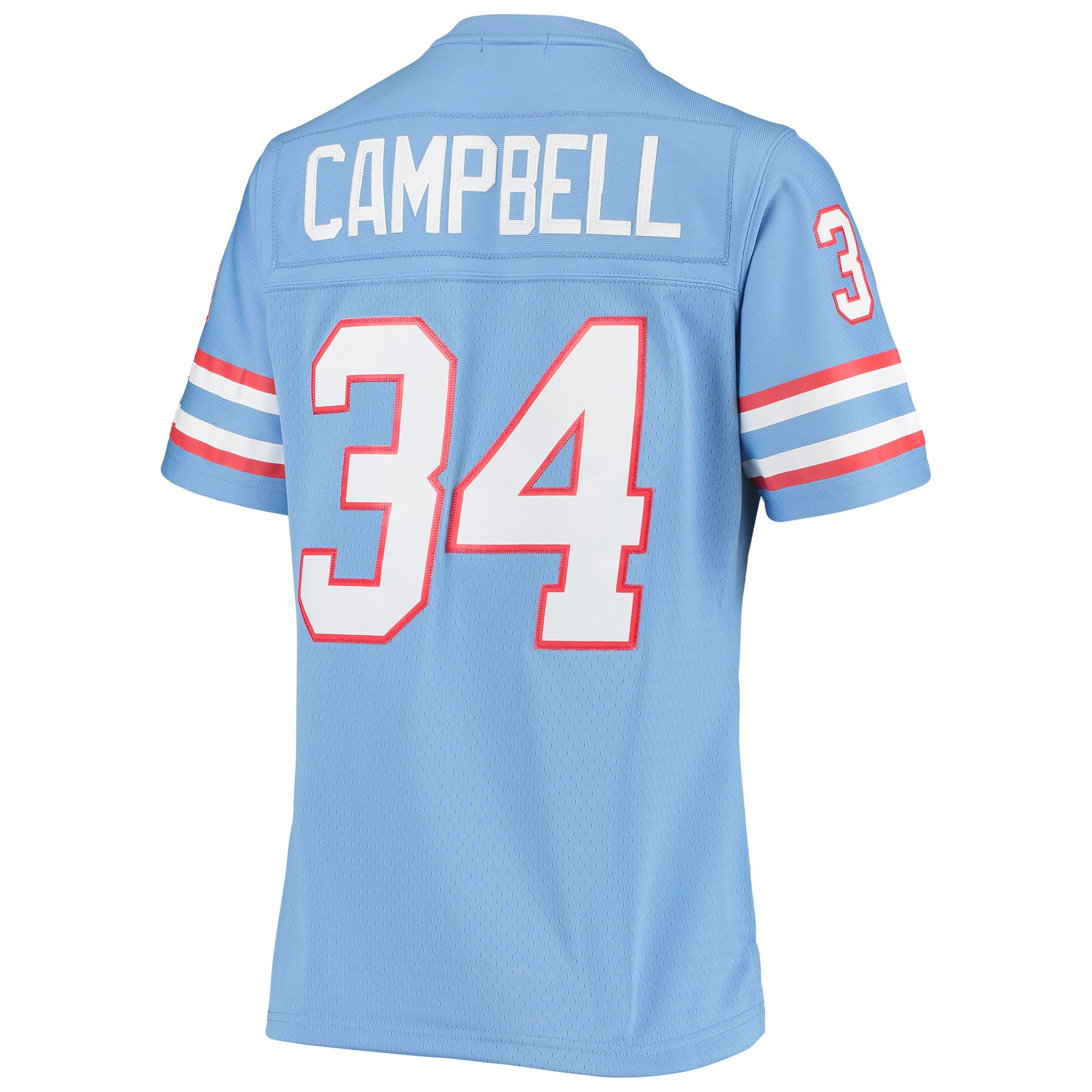 Earl Campbell Houston Oilers Mitchell & Ness Women's 1980 Legacy Replica Jersey - Light Blue