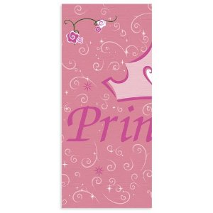 Disney Princess 'Princess Ball' Paper Table Cover (1ct) (Disney Princess Table Cover)