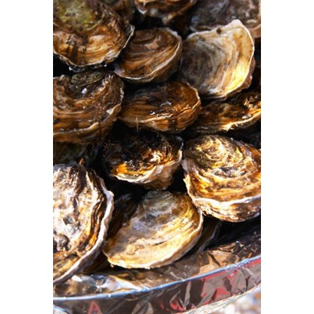 Plate of Oysters France Poster Print by Per Karlsson