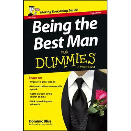 Being the Best Man for Dummies - UK (Best Man Cards Uk)