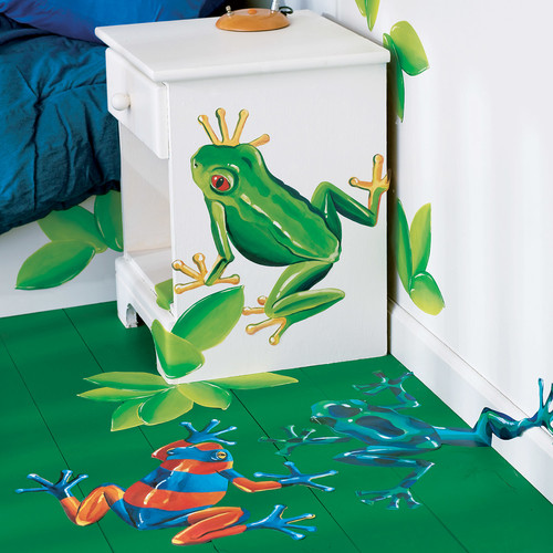 Wallies Tree Frogs Wall Decal