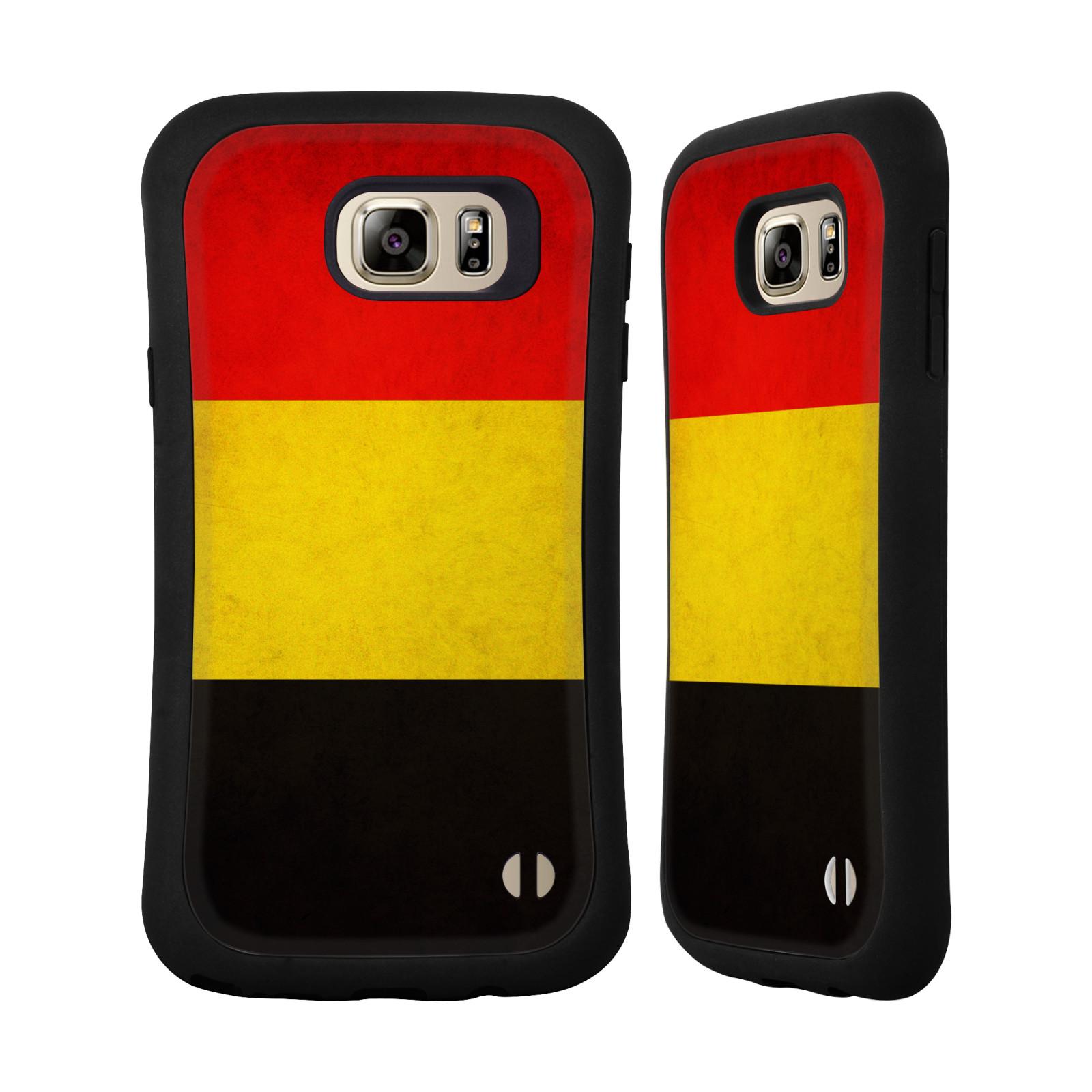 HEAD CASE DESIGNS VINTAGE FLAGS HYBRID CASE FOR SAMSUNG PHONES