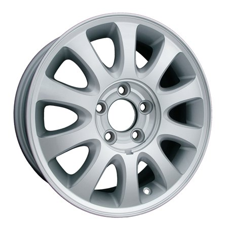 Aftermarket 2001-2003 Chrysler Town & Country  16x6.5 Alloy Wheel, Rim Sparkle Silver Painted with Machined Face - 2151