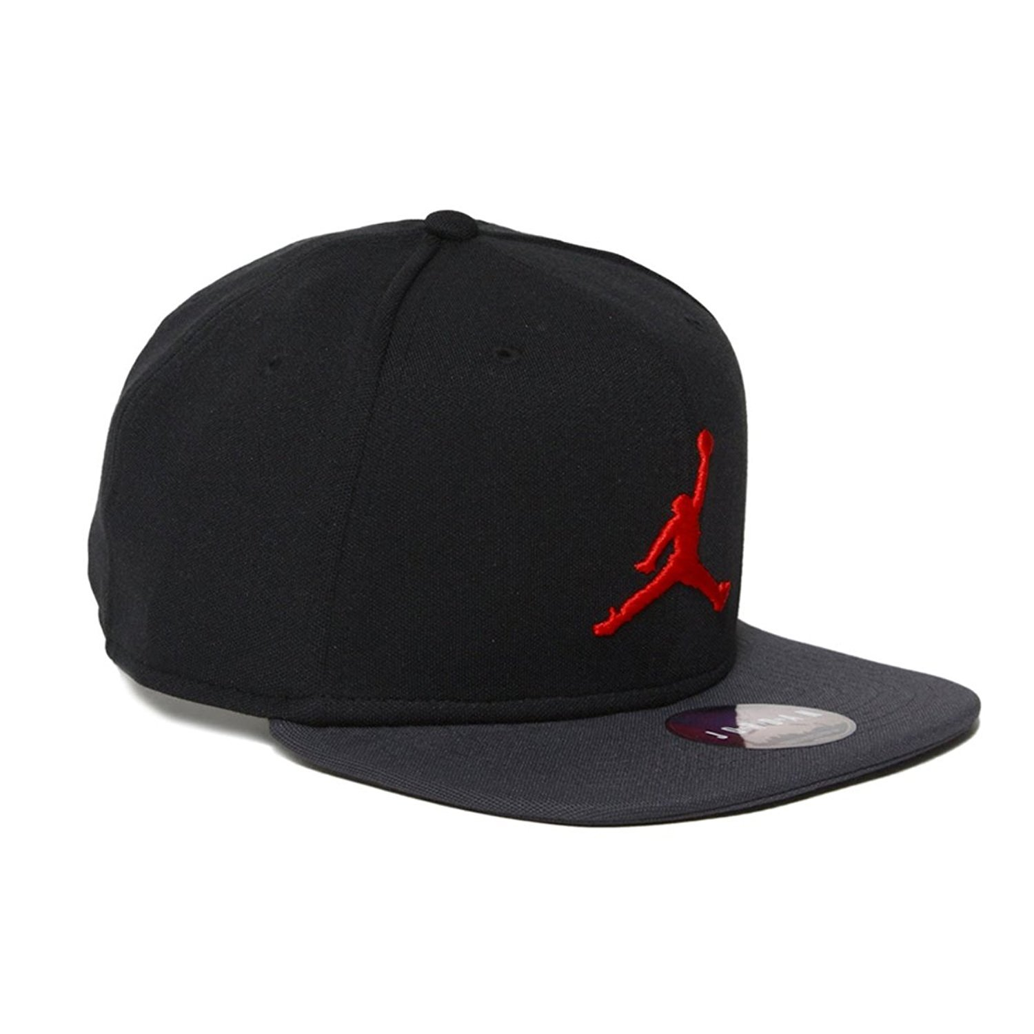59b768d914c ... switzerland nike nike mens jordan jumpman snapback hat 861452 016 black  dark shadow red walmart a4041