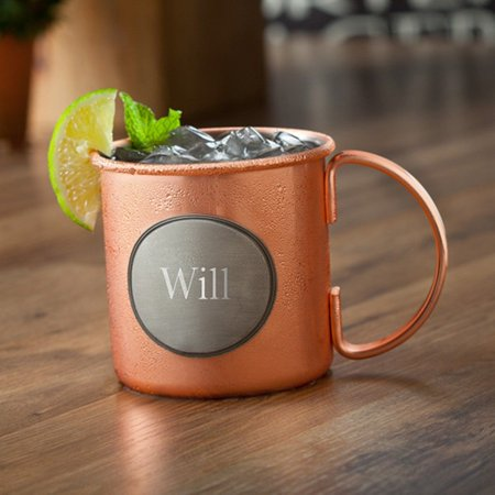 - Personalized Moscow Mule Copper Mug – 16 oz Stainless Steel Mug with Copper Plating