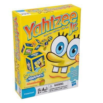 Spongebob Squarepants Yahtzee Jr., Yahtzee Jr. with all your favorite Sponge Bob cartoon... by