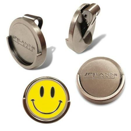 JP Lann's Magnetic Visor Clip with Removable Golf Ball Marker (Choose from several Design