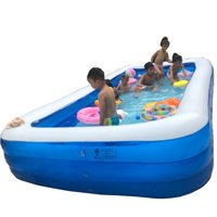 Owl's-Yard Adults Kids Outdoor Indoor Inflatable Swimming Pool 1.3M-3Layers