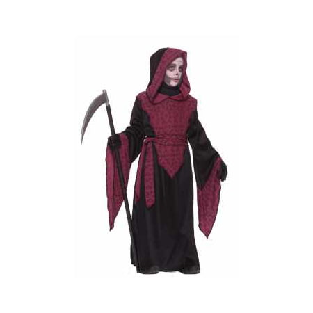 CHCO-HORROR ROBE BOYS-LARGE (Grim Reaper Boys Costume)