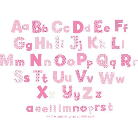 Fun To See Nursery Alphabet Wall Decal