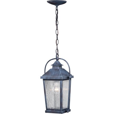 Outdoor Pendant 1 Light Fixtures With Colonial Gray Finish Steel Material Medium 8