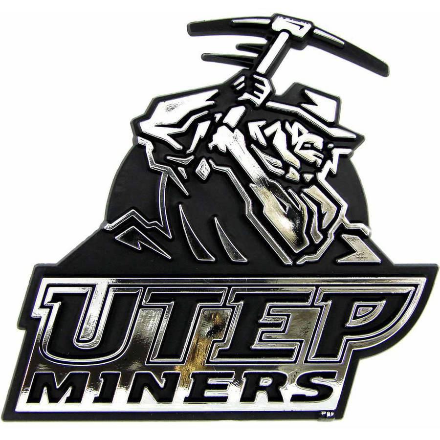 NCAA UTEP Chrome Emblem